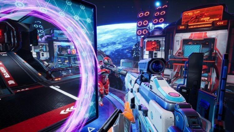 Giveaway: Take A Key For Splitgate: Arena Warfare's Alpha Run