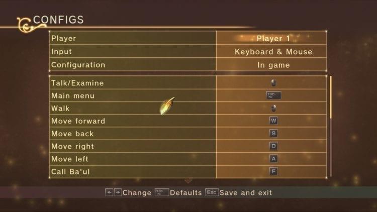 Tales Of Vesperia Definitive Edition Control Options