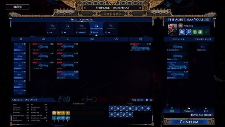 Warhammer 40k Battlefleet Gothic Armada 2 Imperium Campaign Mechanicus Fleets