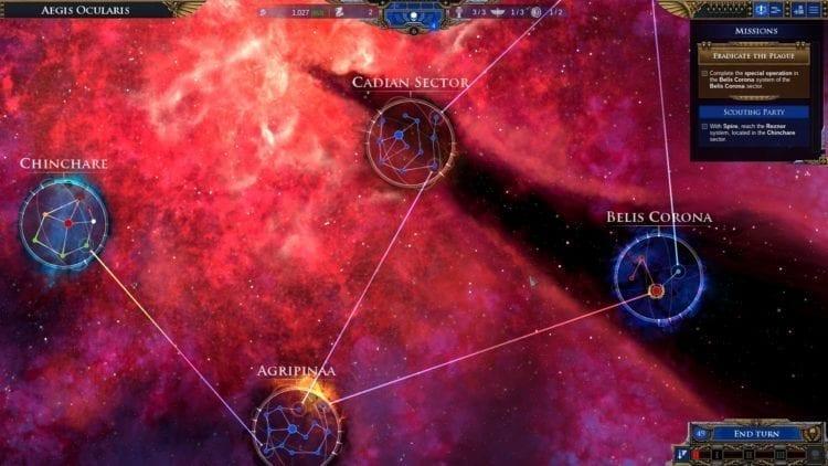 Warhammer 40k Battlefleet Gothic Armada 2 Review Aegis Ocularis Sectors Systems