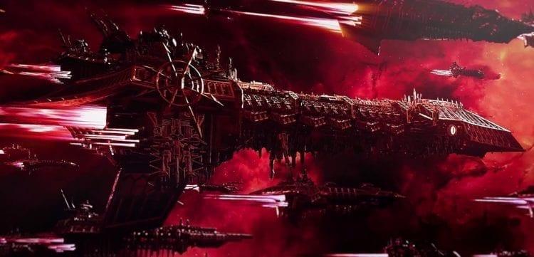 Warhammer 40k Battlefleet Gothic Armada 2 Review Chaos Fleet