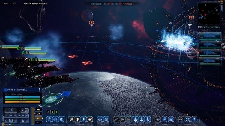Warhammer 40k Battlefleet Gothic Armada 2 Review Imperium Nova Cannons And Plasma Mines