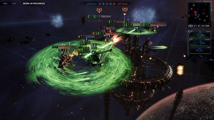 Warhammer 40k Battlefleet Gothic Armada 2 Review Necrons