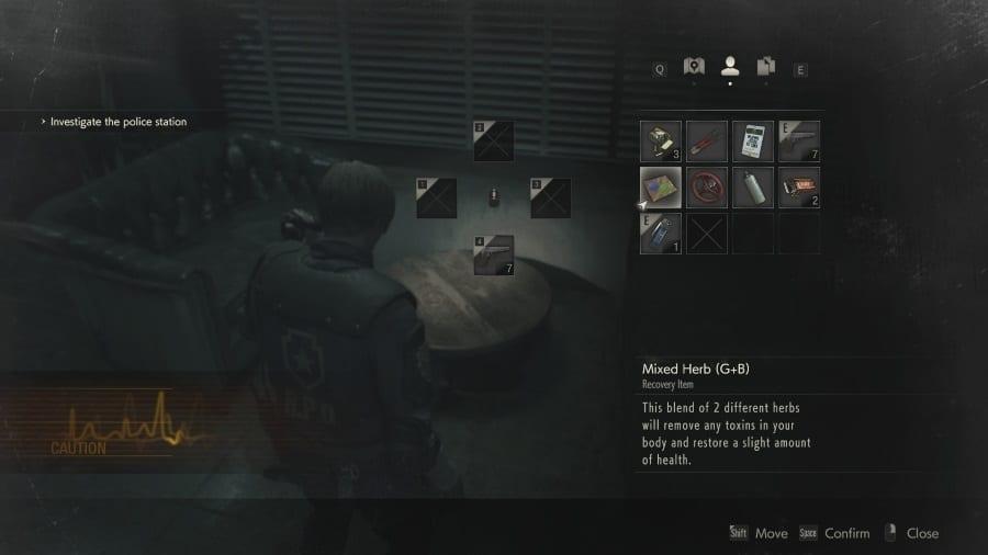 Resident Evil 2 Health