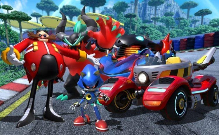 Team Eggman Announced For Team Sonic Racing