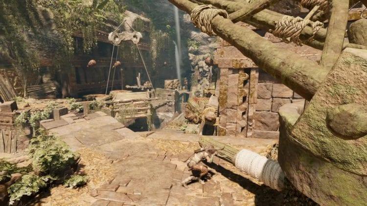 Tomb Raider The Nightmare Monkey Gods