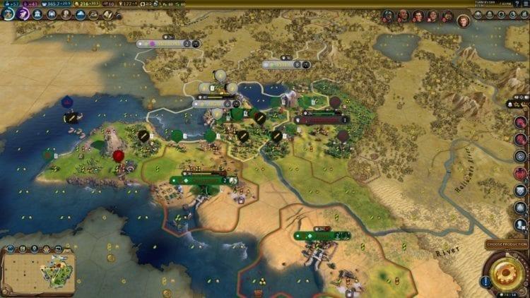 Civilization 6 Civ 6 Gathering Storm Hungary Deity Guide Macedonia War 1