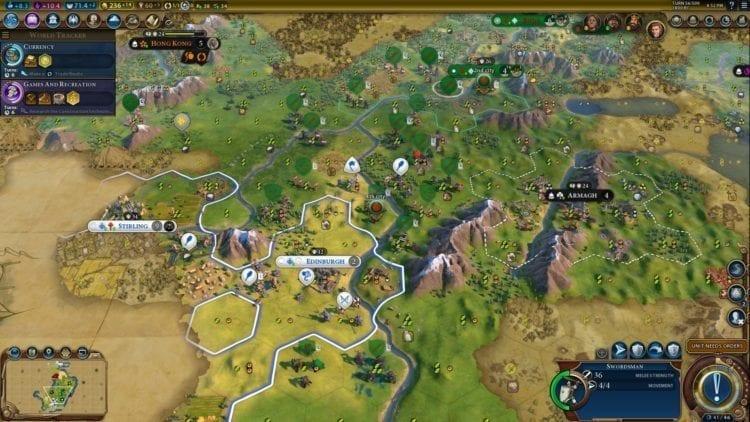 Civilization 6 Civ 6 Gathering Storm Hungary Deity Guide Scotland War 1