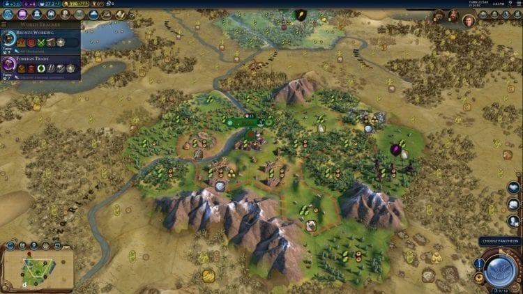 Civilization 6 Civ 6 Gathering Storm Hungary Deity Guide Start