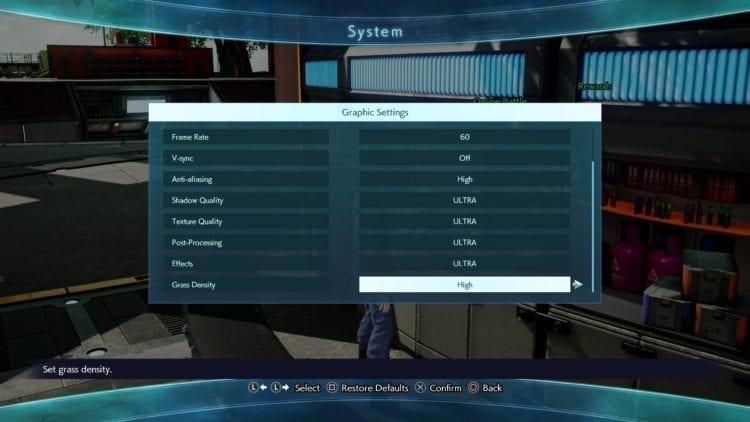 Jump Force Options 2
