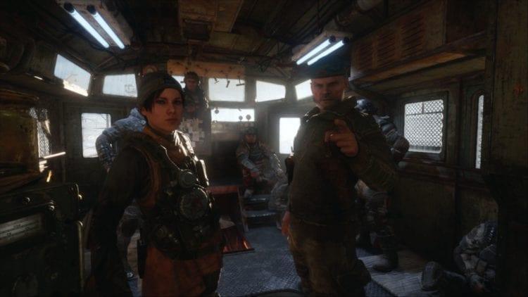Metro Exodus Screenshot On The Train
