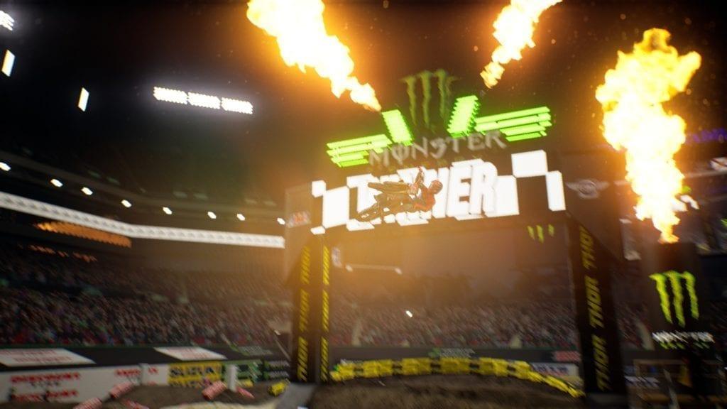Monster Energy Supercross 2 Pc Fire Finish