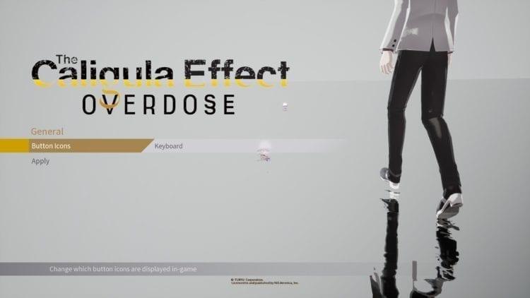 Caligula Effect Buttons