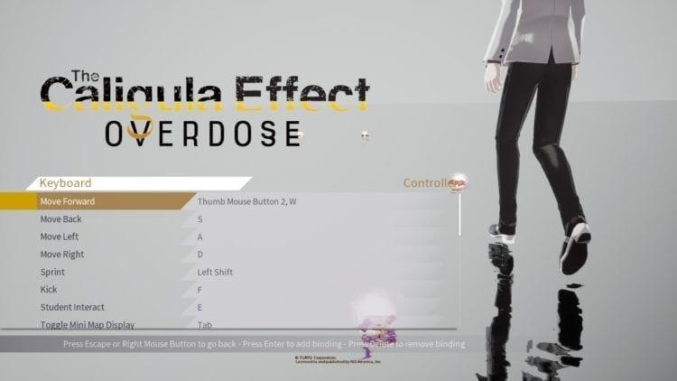 Caligula Effect Controls2