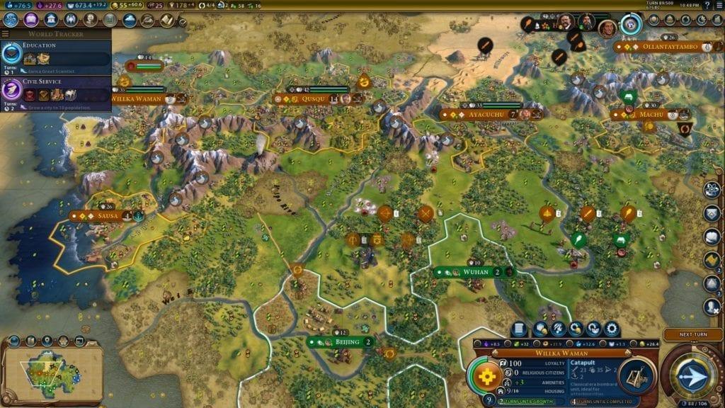 Civilization VI: Gathering Storm - Inca Deity Guide | PC