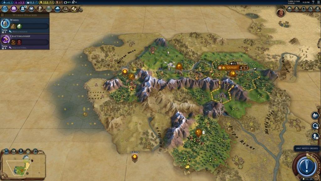 Cẩm nang Civilization 6: Gathering Storm (P 4) « Hiệp Sĩ Bão Táp