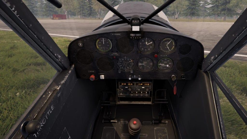 Deadstick Bush Flight Simulator Cockpit