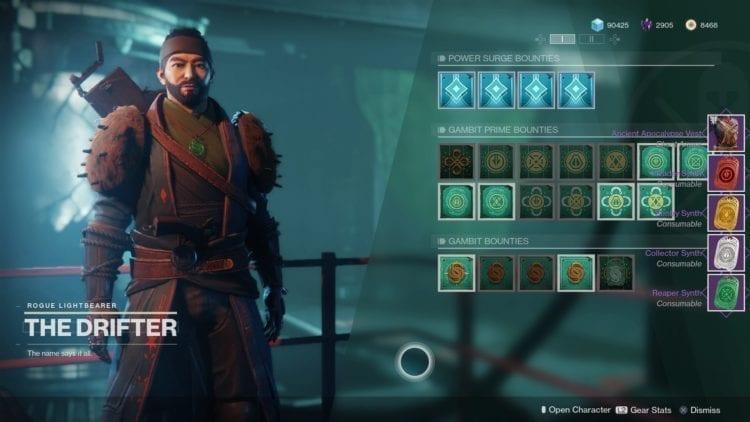 Destiny 2 Joker's Wild Drifter Vanguard Allegiance Quest Guide Drifter Rewards