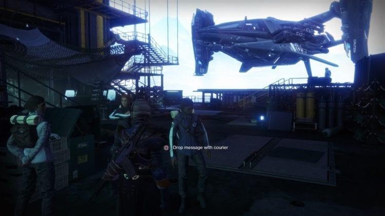Destiny 2 Joker's Wild Drifter Vanguard Allegiance Quest Guide Hangar Courier