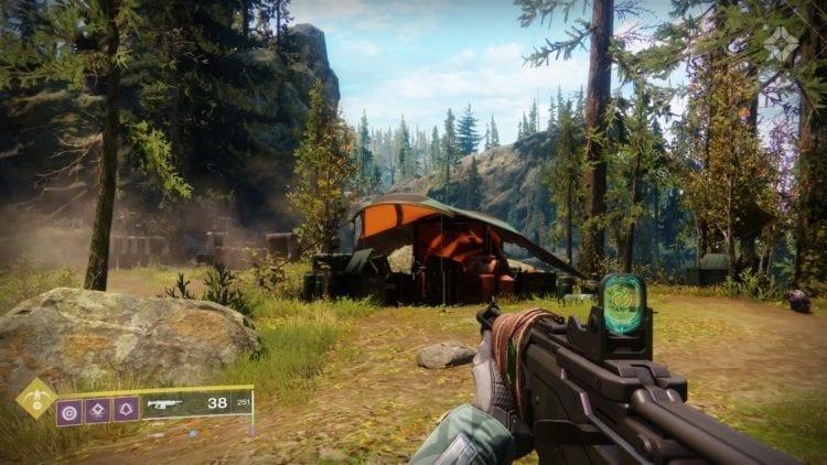 Destiny 2 Joker's Wild Drifter Vanguard Allegiance Quest Guide Lost Sector Sojourner's Camp