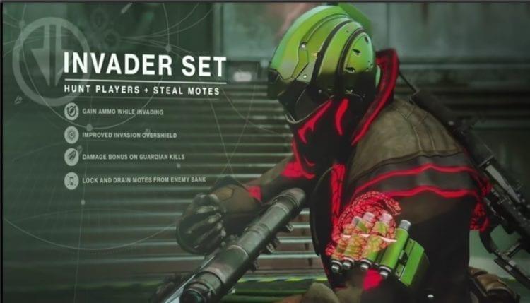 Destiny 2 Joker's Wild Gambit Prime Guide Invader Role Armor