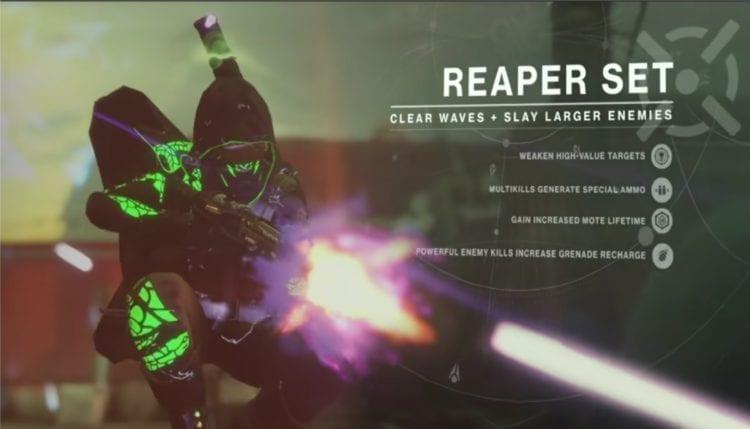 Destiny 2 Joker's Wild Gambit Prime Guide Reaper Role Armor