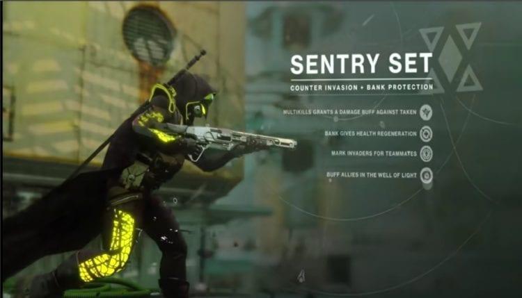 Destiny 2 Joker's Wild Gambit Prime Guide Sentry Role Armor
