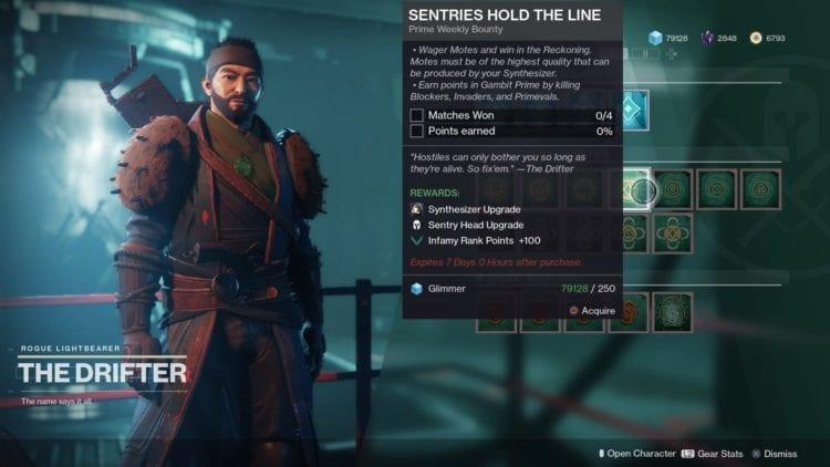 Destiny 2 Joker's Wild Gambit Prime Guide Bounty 2
