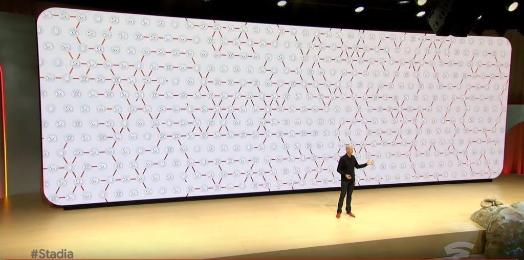 Google Stadia Controller Network