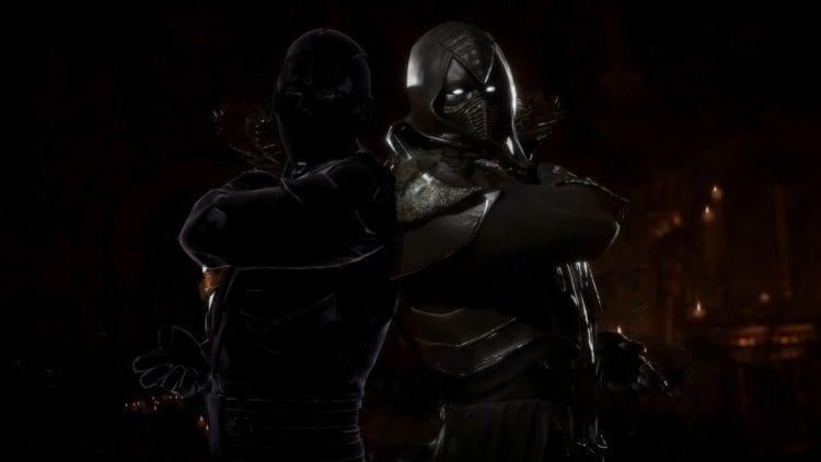 Mortal Kombat 11 Noob Saibot Clone