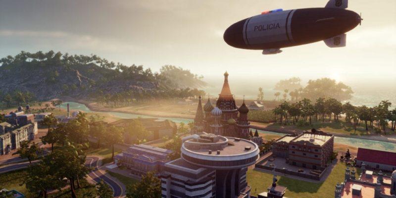 Tropico 6 Police Blimp Screenshot