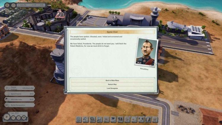 Tropico 6 Fail