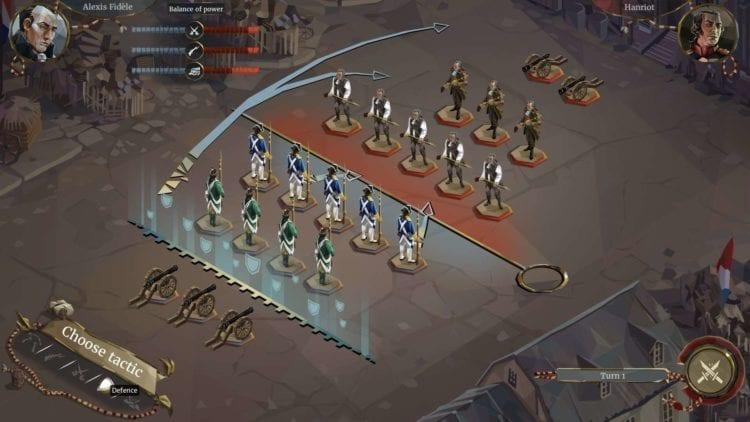 We The Revolution Defense Tactic