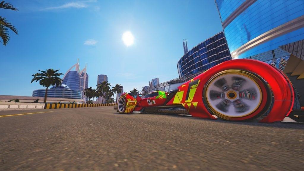 Xenon Racer Dubai Sun