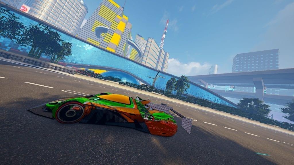 Xenon Racer Sidewinder