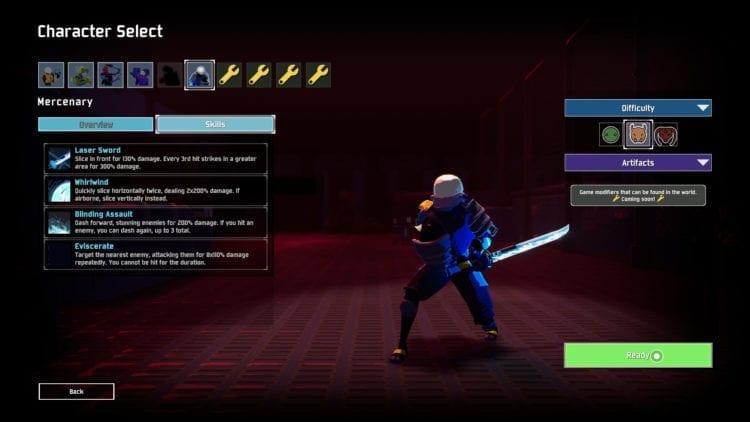 Risk Of Rain 2 Mercenary Info