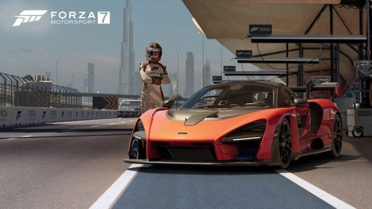 Forza Motorsport 7 April 2019 Update Includes McLaren Senna And More