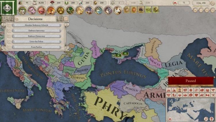 Imperator Rome Guide Interesting Nations Scythia