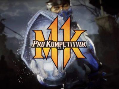 Mortal Kombat 11 2019 Pro Kompetition