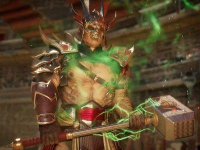Mortal Kombat 11 Shao Kahn Reveal