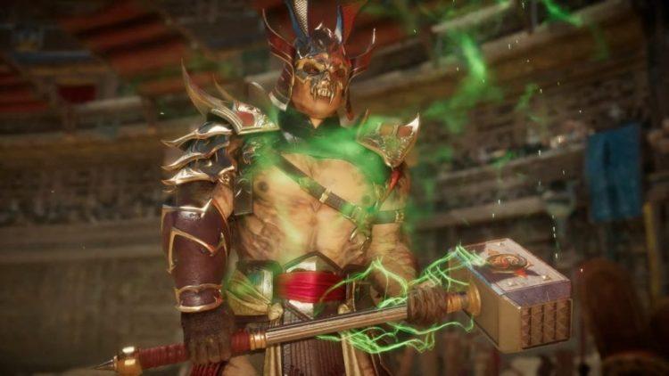 Shao Kahn Shoulder Charges Into Mortal Kombat 11