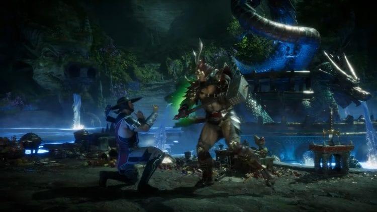 Mortal Kombat 11 Shao Kahn Reveal New Stage