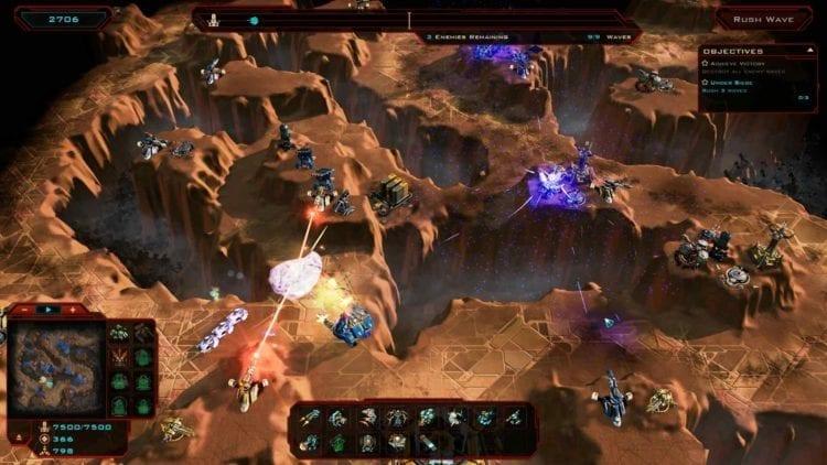 Siege Of Centauri, Invincible Shields
