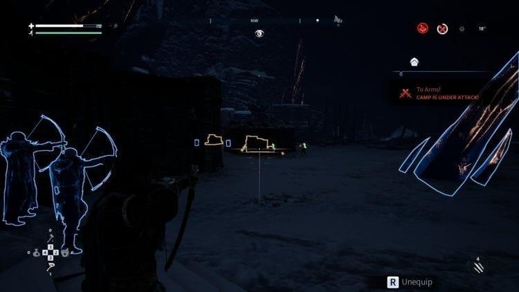 Camp Refuge Under Attack