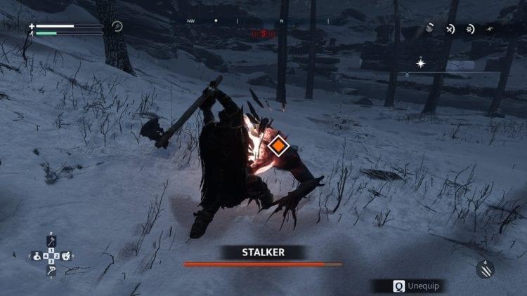 Combat Stalker Enemy