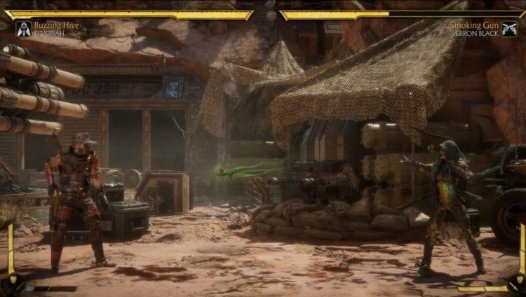 Mortal Kombat 11 Dvorah Baby