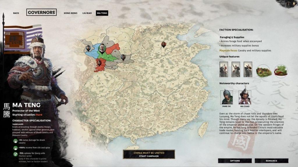 Ma Teng Total War Three Kingdoms Guide Bio