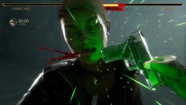 Mortal Kombat 11 Cassie Fatal Blow