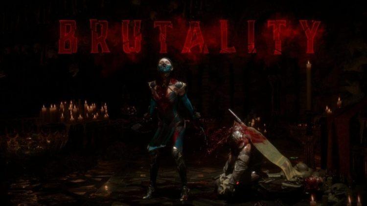 Смертельная битва 11 Китана Жестокость