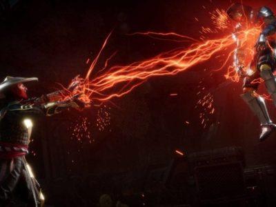 Mortal Kombat 11 Raiden Lightning Scorpion